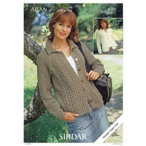 Cardigans in Hayfield Bonus Aran (8485)