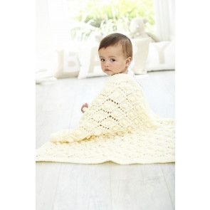 Blankets in Stylecraft Special for Babies Chunky (9348) - Lace Diamond