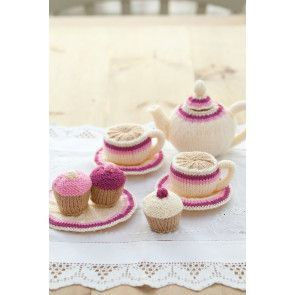 Afternoon Tea Set Knitting Patterns - The Knitting Network