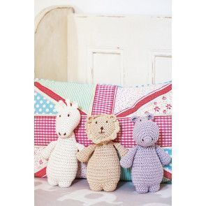 Animal Toys Crochet Pattern