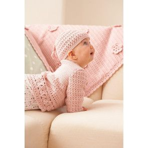 Baby Blanket Hat And Jacket Crochet Patterns - The Knitting Network