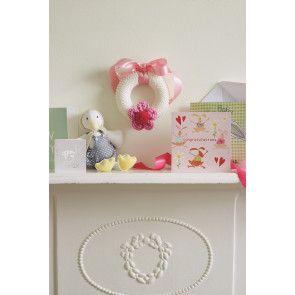 Baby Gift Nursery Decoration Knitting Pattern - The Knitting Network