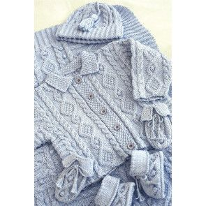 Baby Jacket, Accessories And Blanket Knitting Patterns - The Knitting Network