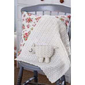 Baby Lamb And Blanket Crochet Patterns - The Knitting Network