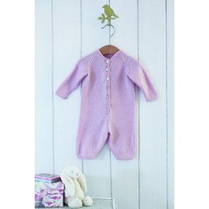 Babygro Knitting Pattern - The Knitting Network