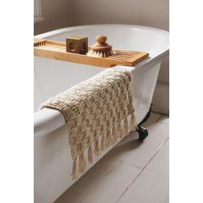 Bath Mat Crochet Pattern - The Knitting Network
