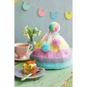 Bobble Hat Tea Cosy Knitting Pattern