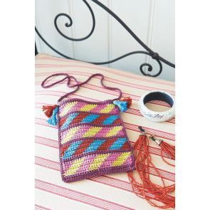 Boho Ladies Bag Crochet Pattern - The Knitting Network