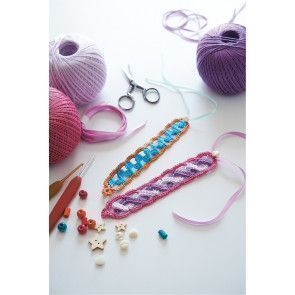 Bracelet Crochet Pattern - The Knitting Network