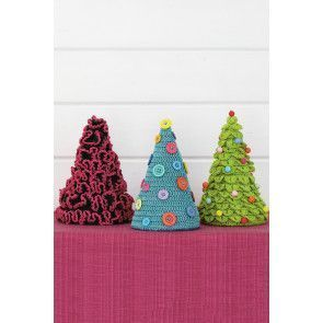 Christmas Tree Set Crochet Patterns - The Knitting Network