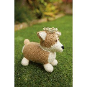Corgi Dog Knitting Pattern