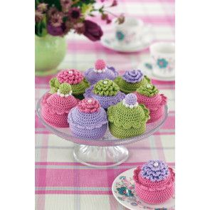 Cupcakes Make Crochet Pattern - The Knitting Network