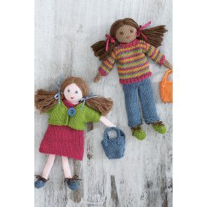 Doll And Outfit Set Knitting Pattern - The Knitting Network