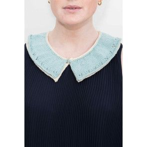 Double Layer Womens Collar Knitting Pattern - The Knitting Network