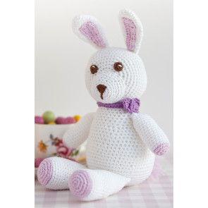 Easter Bunny Rabbit Crochet Pattern - The Knitting Network