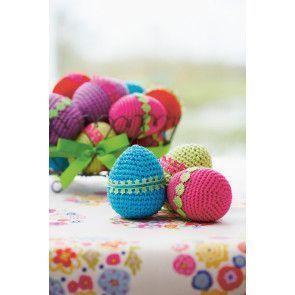 Egg Decoration Crochet Patterns - The Knitting Network