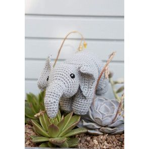Elephant Toy Crochet Pattern