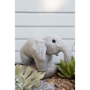 Elephant Toy Knitting Pattern
