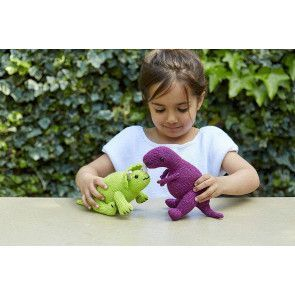 Dinosaur Toy Knitting Pattern