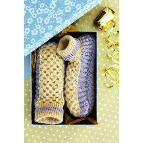 Ladies Slippers Knitting Pattern