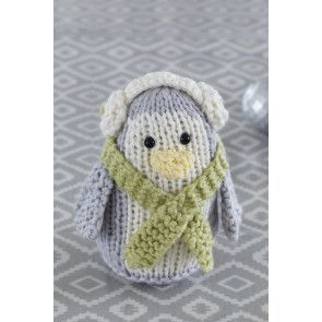 Penguin Decoration Knitting Pattern