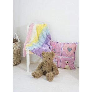 Baby Cot Blanket Knitting Pattern