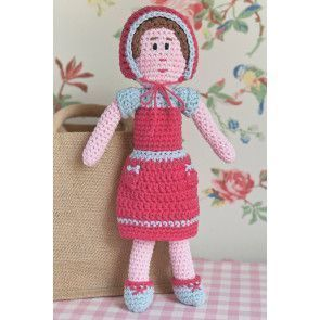 Crocheted vintage doll