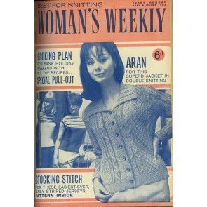 Cover of 1960s Woman's Weekly featuring retro women's jacket