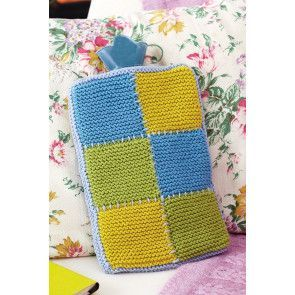 Vintage Style Hot Water Bottle Cover Knitting Pattern