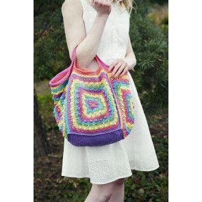 Rainbow Bag Crochet Pattern