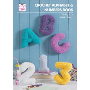 Crochet Alphabet and Numbers Book