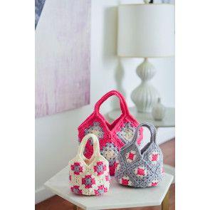 Crochet Bag in Three Sizes