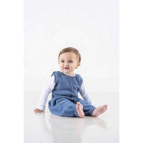 Baby Dungarees Knitting Pattern