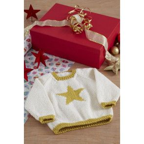 Baby Star Jumper Knitting Pattern