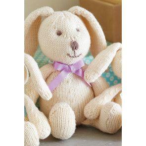 Bunny Rabbit Family Knitting Patterns - The Knitting Network