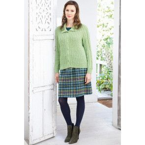 Cardigan Vintage Knitting Pattern - The Knitting Network