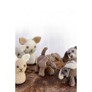Cat & Dog Amigurumi Animals Crochet Pattern - The Knitting Network