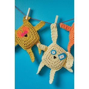 Cat, Dog And Rabbit Toy Crochet Patterns - The Knitting Network