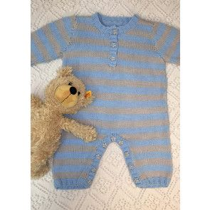 Romper and Hat in Baby Pato DK (CY1001)