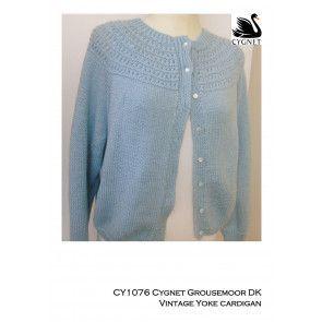 Cardigan in Cygnet Grousemoor DK (CY1076)