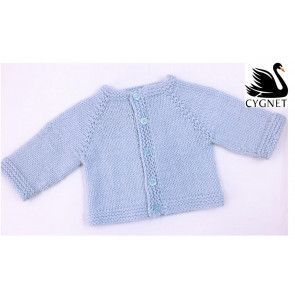 Cardigan in Cygnet Kiddies Super Safe and Soft DK (CY1068a)