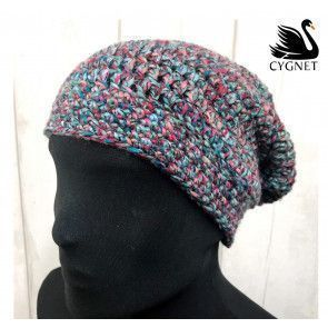 Hat in Cygnet Helter Skelter Chunky (CY1195)
