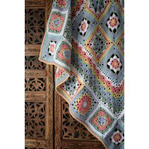 Portuguese Tile Blanket Pattern