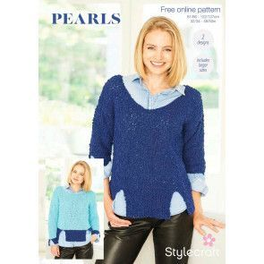 Sweaters in Stylecraft Pearls