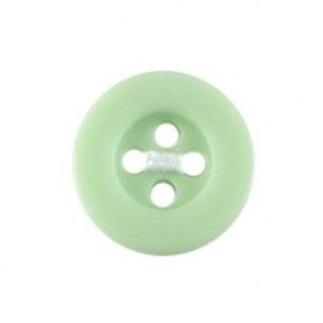 Size 12mm, 4 Hole, Green, Pack of 5
