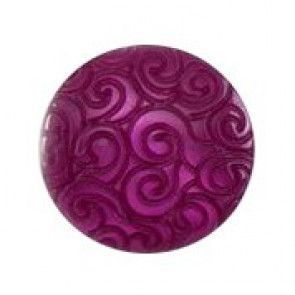Size 11mm, Swirl Effect, Purple, Pack of 5