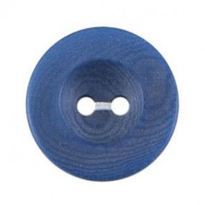 Size 17mm, 2 Hole, Blue, Pack of 4