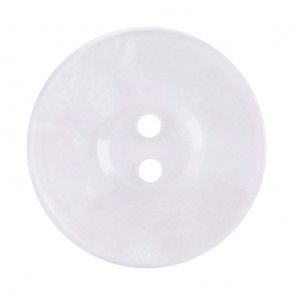 Size 17mm, 2 Hole, Pearl White, Pack of 3