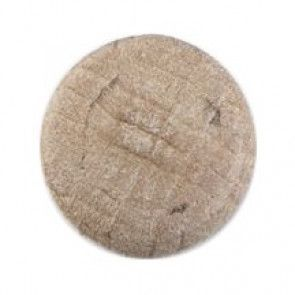 Size 14mm, Wood Effect , Brown, Pack of 4