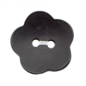 Size 20mm, 2 Hole, Black, Pack of 2
